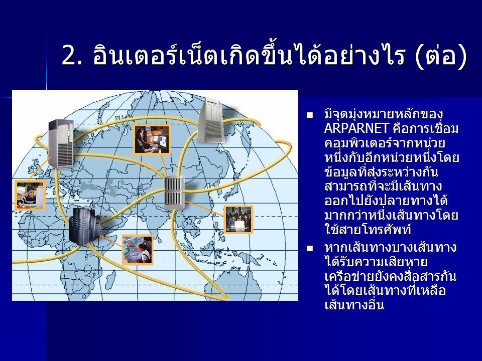 โดเมนย่อยในประเทศไทย รหัสโดเมนใช้สำหรับตัวอย่าง orกลุ่มธุรกิจการค้าNectec.or.th acสถาบันการศึกษาEau.ac.th goหน่วยงานของรัฐบาลMua.go.th