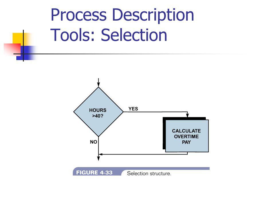 Process Description Tools: Selection
