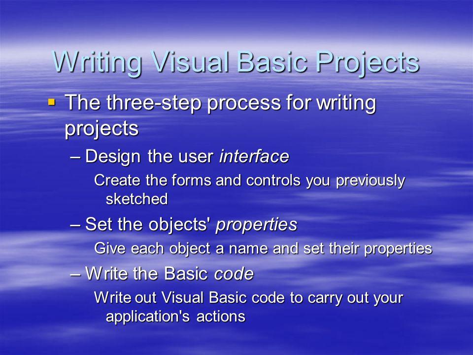 Basic Control Basic Control  DriveListBox จะทำหน้าที่เป็น Drop-Down ListBox ที่แสดง Drive ต่างๆ  FileListBox ใช้แสดงชื่อ File ใน Directory ที่เลือกไว้ใน DirlistBox