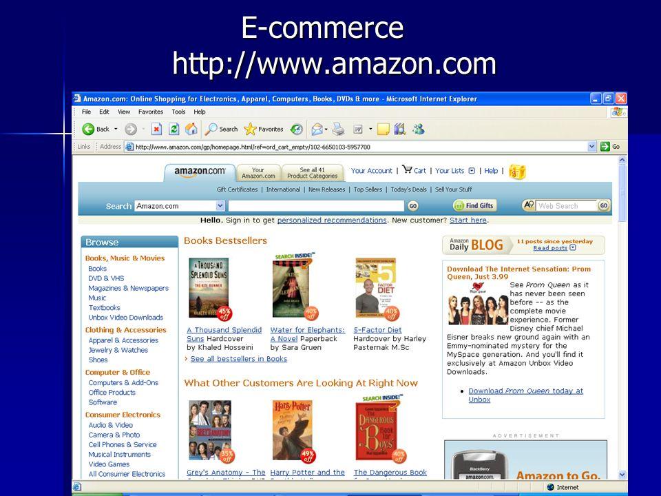 E-commerce http://www.amazon.com