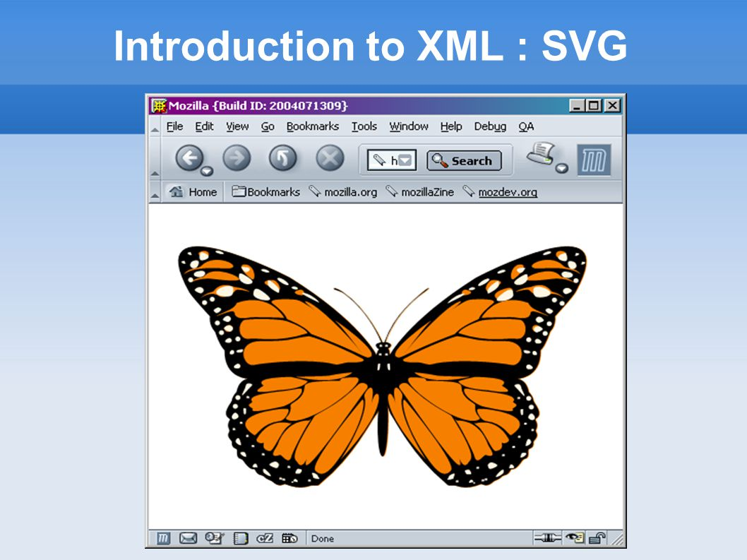 Introduction to XML : SVG