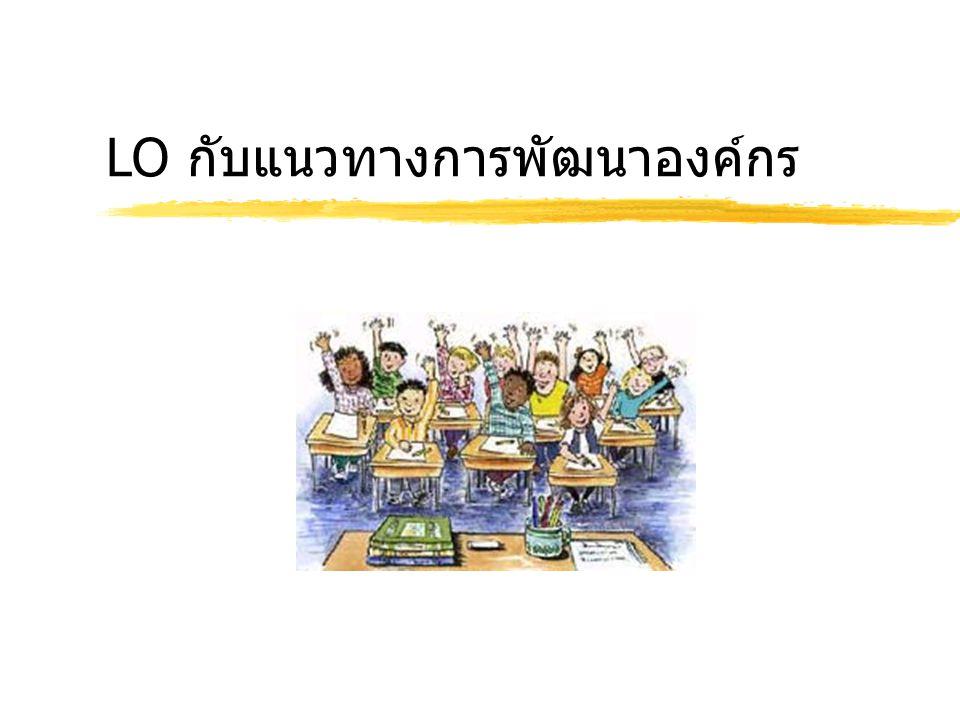 LO กับแนวทางการพัฒนาองค์กร