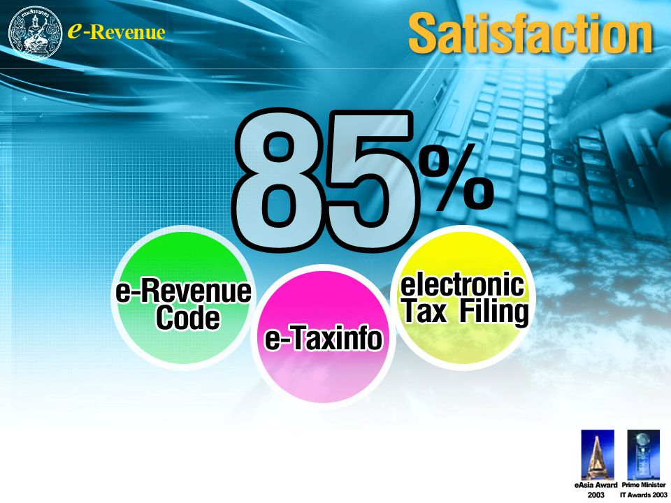 Tax Filing and Payment by the Internet is a complete life cycle of electronic service starting from tax return filing, tax payment, and tax data processing.