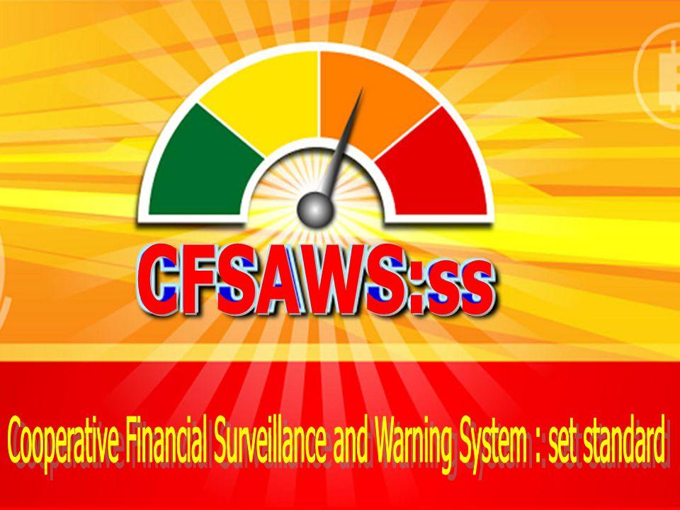 1. พัฒนาการเครื่องมือเตือนภัยทางการเงิน CFSAWS:ss ประเด็น 2. การใช้เครื่องมือเตือนภัยทางการเงิน