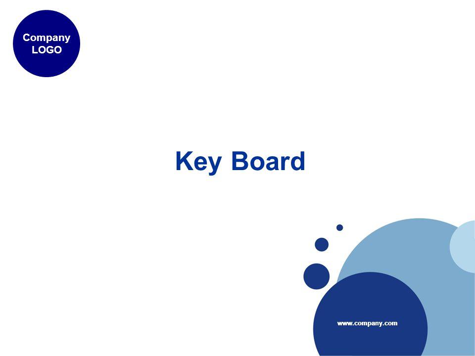 www.company.com Company LOGO www.company.com Key Board