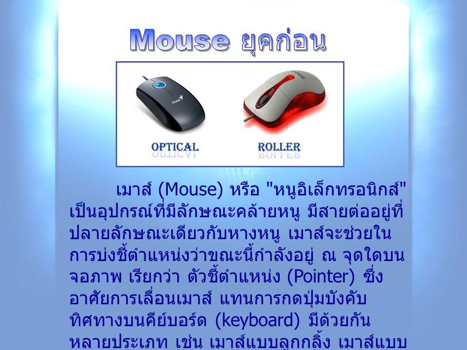 เมาส์ (Mouse) หรือ
