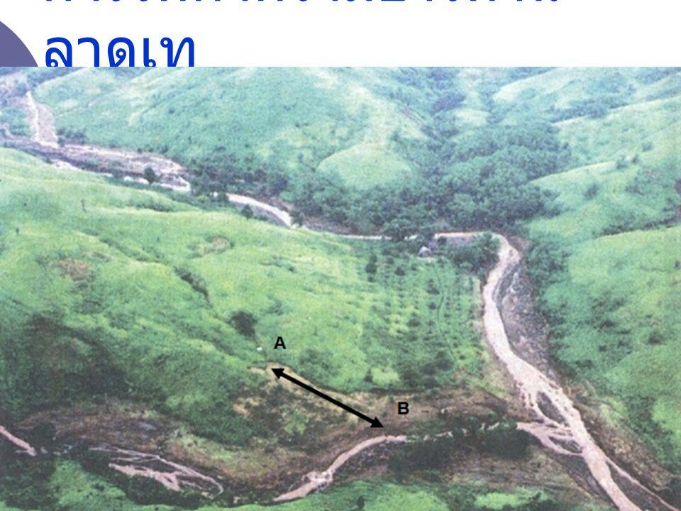 ความยาวด้าน ลาดชัน A B ส่วนวิจัยต้นน้ำ สำนักอนุรักษ์และจัดการต้นน้ำ