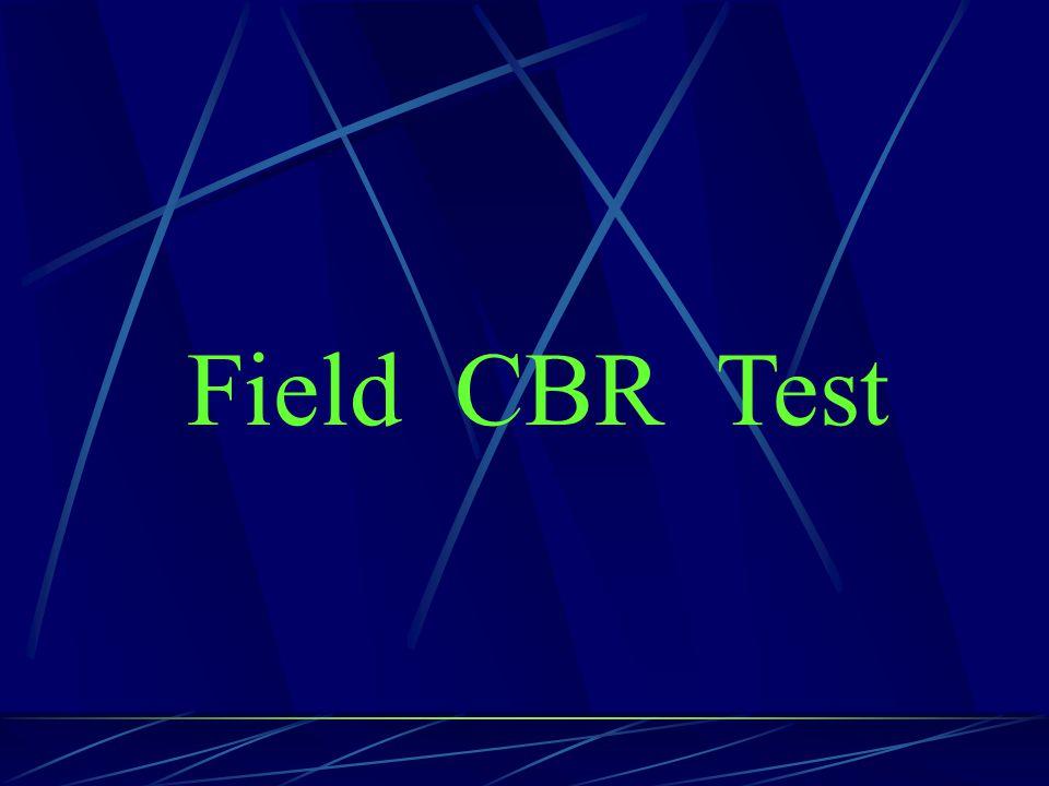 Field CBR Test