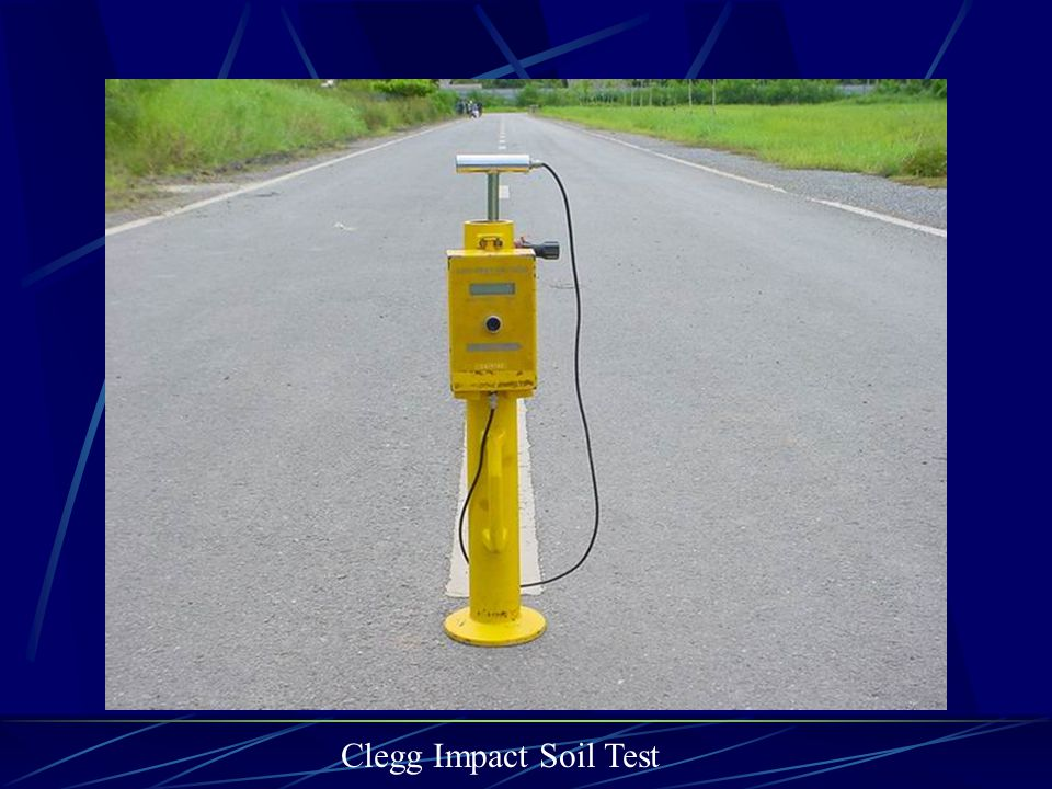 Clegg Impact Soil Test