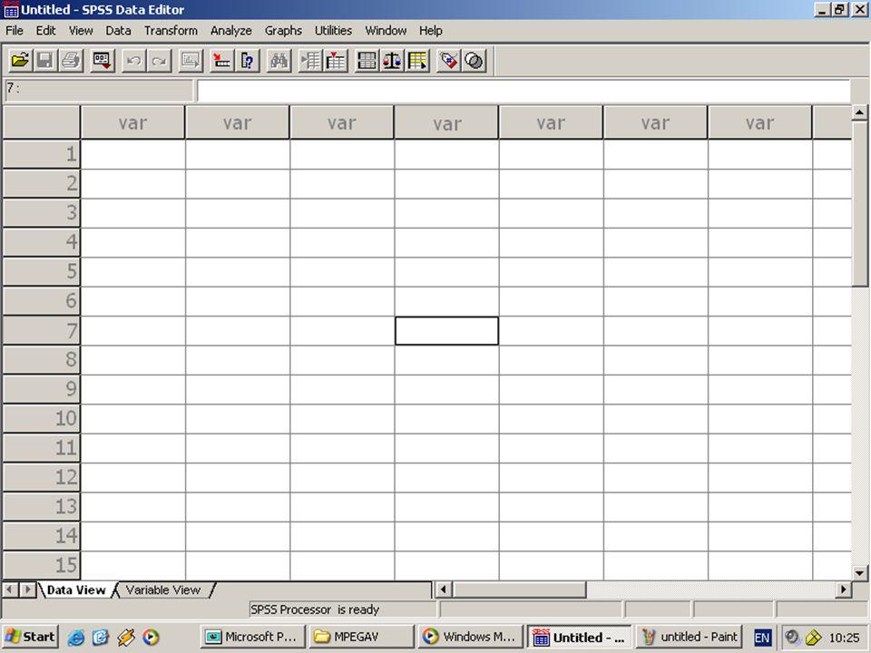 ตัวอย่างการใช้ โปรแกรม SPSS for Windows เพื่อ คำนวณหาค่า ร้อย ละ ค่าเฉลี่ย และ ค่า เบี่ยงเบนมาตรฐาน และ ค่าสถิติ อื่นๆ