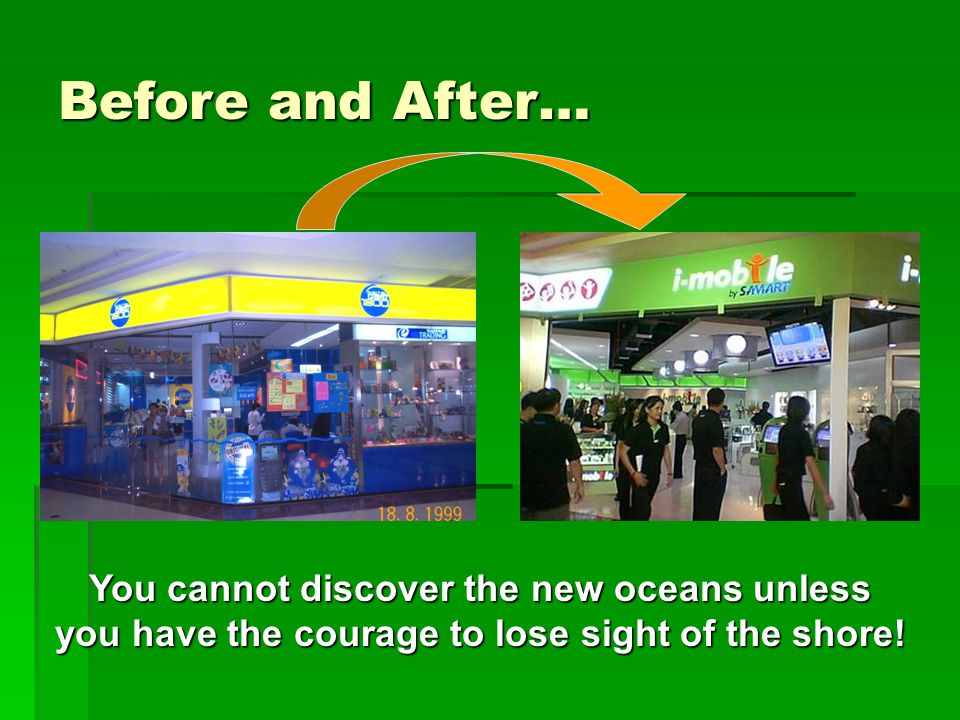 You cannot discover the new oceans unless you have the courage to lose sight of the shore.