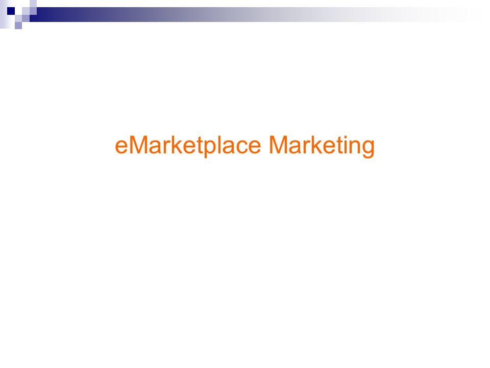 eMarketplace ระบบกลางเพื่อรองรับผู้ซื้อ และผู้ขายให้มาพบกันและใช้ ระบบของ อีมาร์เก็ตเพลสในการซื้อขาย แลกเปลี่ยน สินค้ากัน อีมาร์เก็ตเพลสมีรูปแบบต่อไปนี้ - ประมูล - แคตตาล็อก What is eMarketplace?