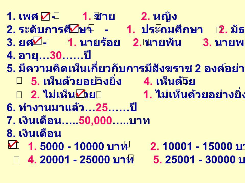 การคำนวณค่าสถิติพรรณนา 1.ค่าร้อยละ 2. ค่าเฉลี่ย มัธยฐาน และฐานนิยม 3.