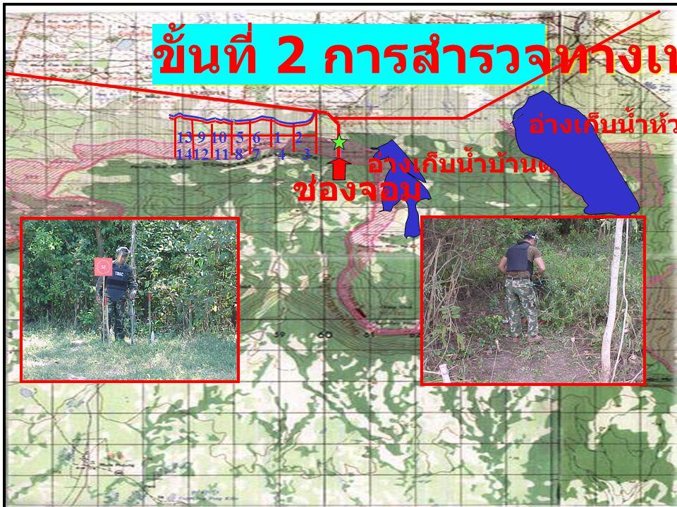 ขั้นที่ 2 การสำรวจทางเทคนิค ช่องจอม อ่างเก็บน้ำบ้านด่าน อ่างเก็บน้ำห้วยเชิง 139105612 1412118743