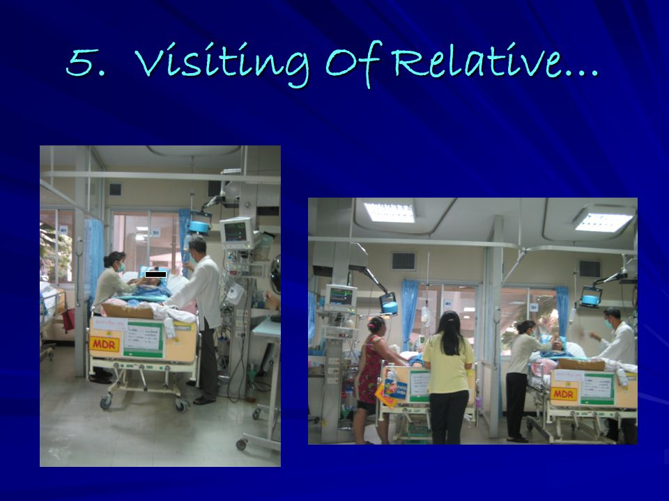 5. Visiting Of Relative…