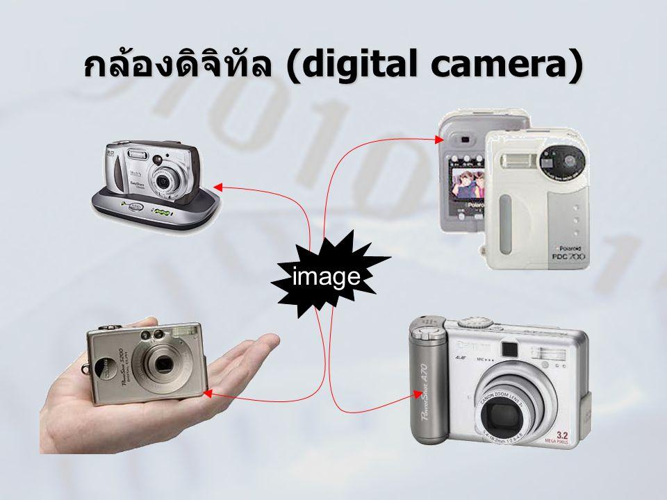 กล้องดิจิทัล (digital camera) image