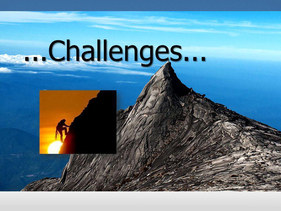 Challenge!!!!...Challenges...