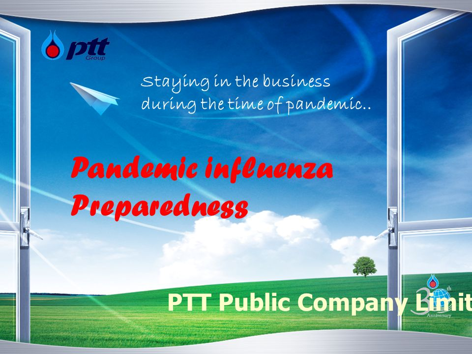PTT Pandemic Management Plan Pandemic Management Committee