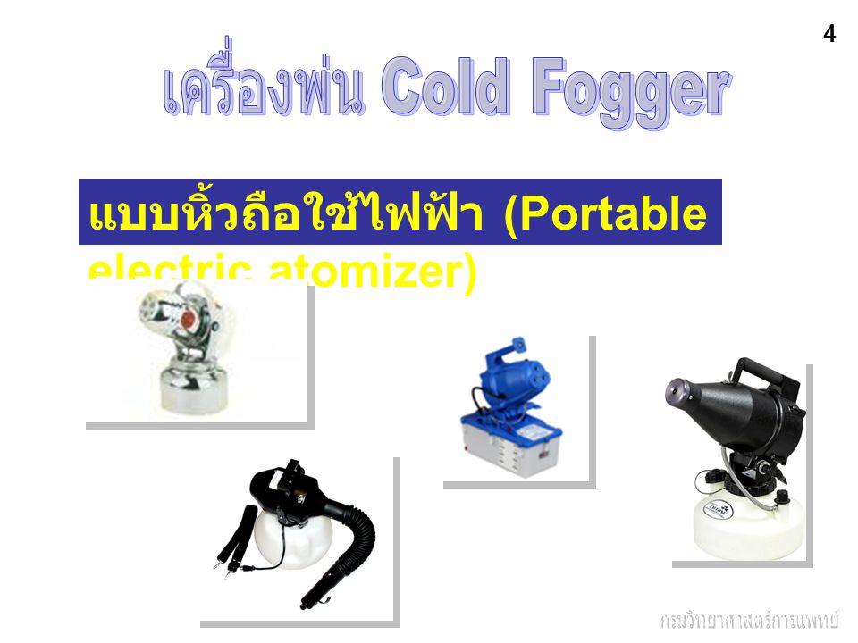แบบหิ้วถือใช้ไฟฟ้า (Portable electric atomizer) 4