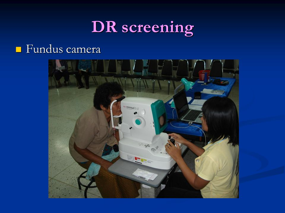 DR screening Fundus camera Fundus camera