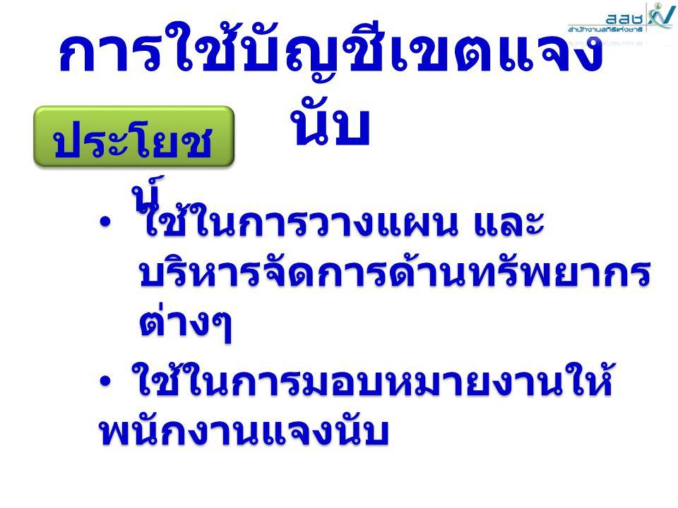 www.nso.go.th 816 การใช้แผนที่ในการ ปฏิบัติงาน 1.