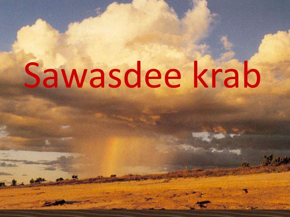 Sawasdee krab