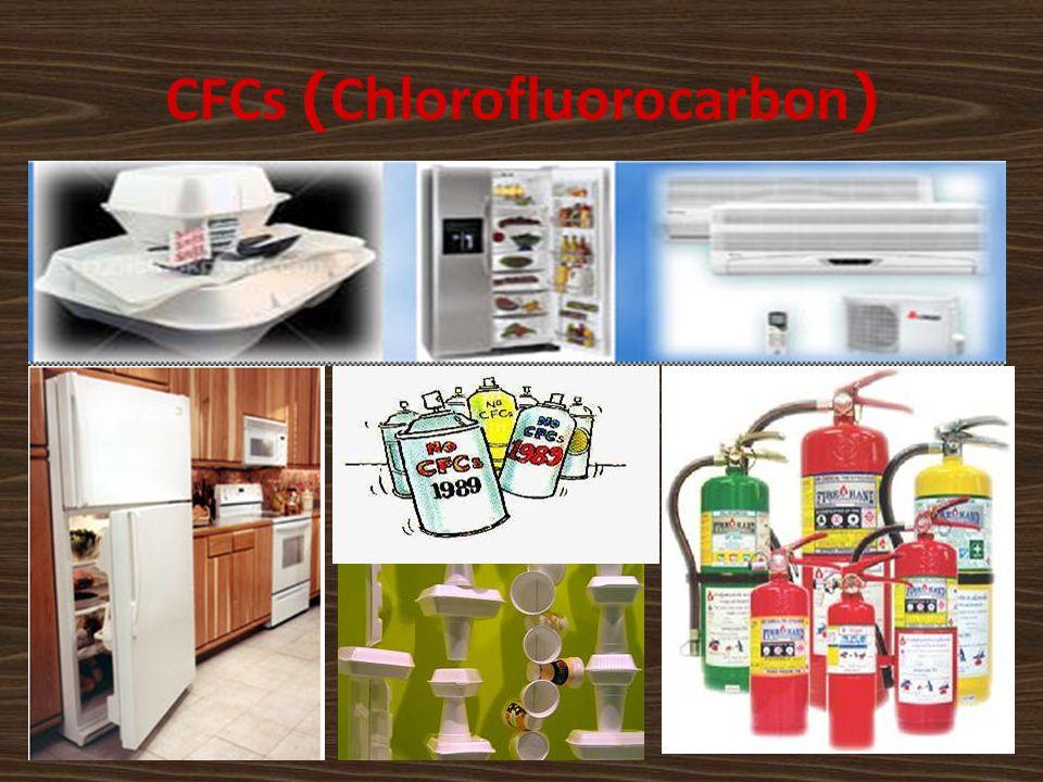 CFCs (Chlorofluorocarbon)