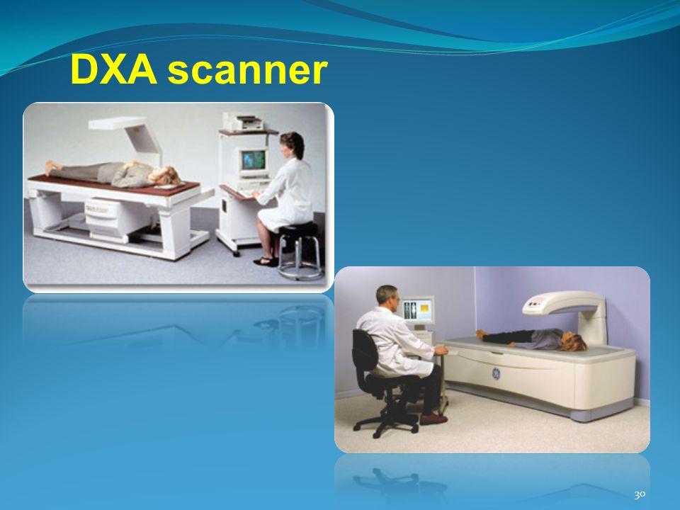 DXA scanner 30