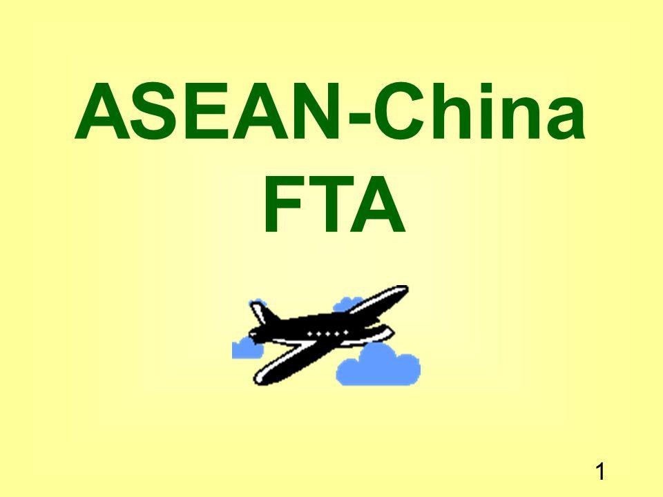 1 ASEAN-China FTA