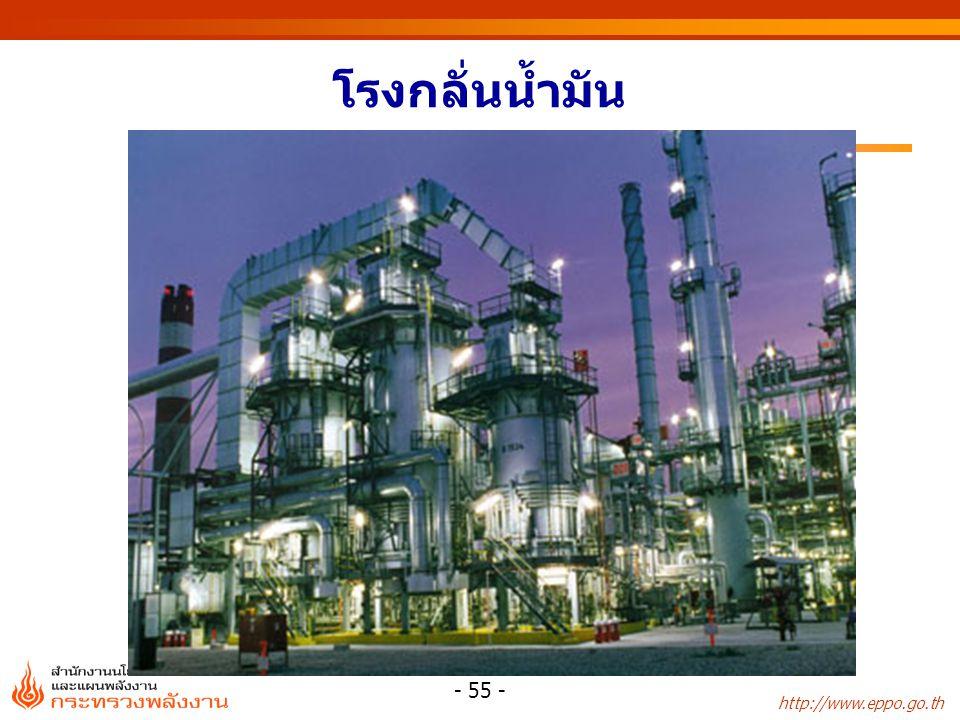 http://www.eppo.go.th - 55 - โรงกลั่นน้ำมัน