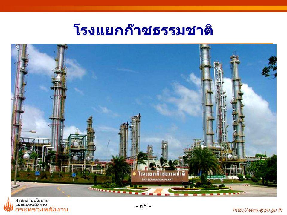 http://www.eppo.go.th - 65 - โรงแยกก๊าซธรรมชาติ