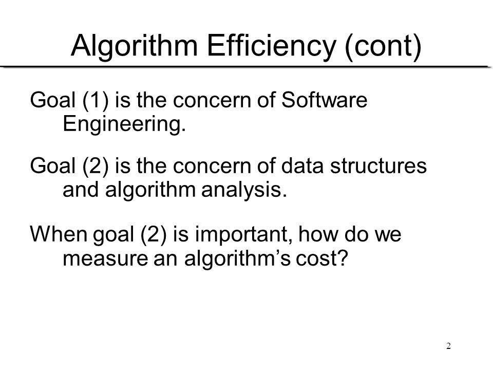 3 How to Measure Efficiency.