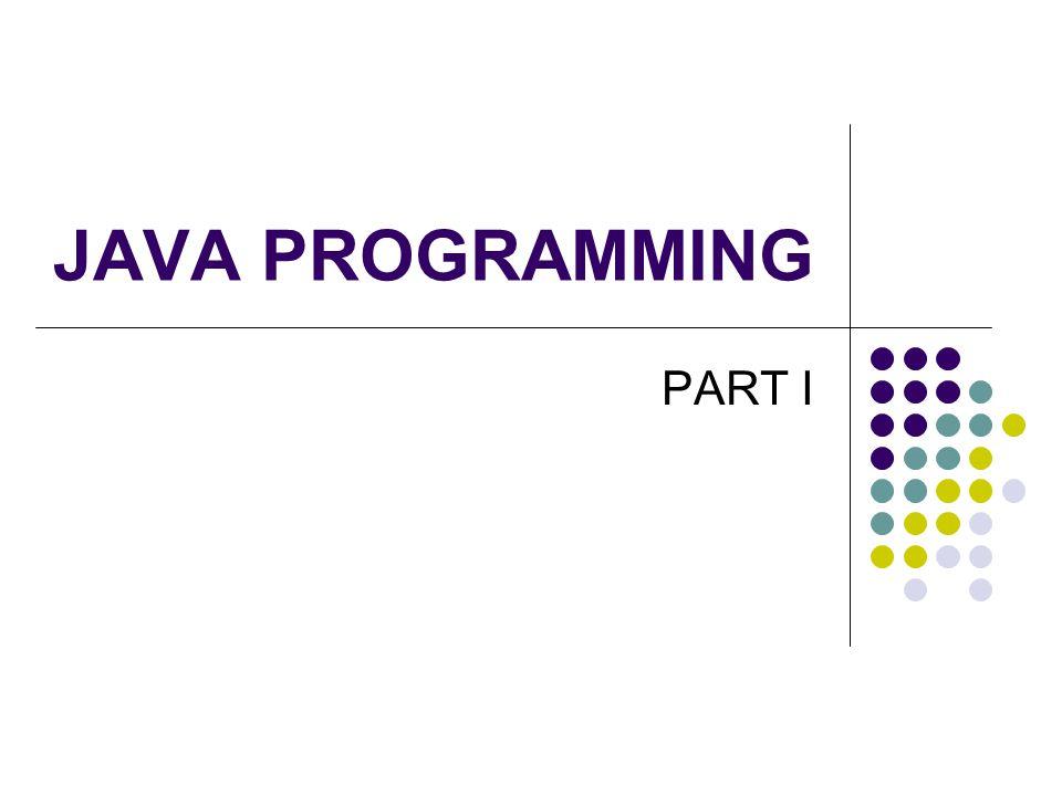 เกี่ยวกับจาวา เป็นภาษาที่ถูกพัฒนาโดยบริษัทซันไมโครซิสเต็ม (Sun Microsystems) ชื่อ JAVA มาจากชื่อกาแฟชนิดหนึ่งที่ทีมงาน พัฒนาชอบดื่มกันเป็นประจำ พวกเราโดยส่วนใหญ่ได้สัมผัสและรู้จักจาวาจาด อินเตอร์เน็ต แรกเริ่มเดิมที จาวาถูกพัฒนาไว้ใช้งานสำหรับเขียน โปรแกรมขนาดเล็กบนอุปกรณ์อิเล็กทรอนิกส์ เพื่อให้การเรียนรู้ภาษาจาวาง่าย ทางทีมงานจึง กำหนดรูปแบบคำสั่งให้คล้ายภาษาซีพลัสพลัส ซึ่ง เป็นภาษาที่นักเขียนโปรแกรมโดยส่วนใหญ่คุ้นเคย