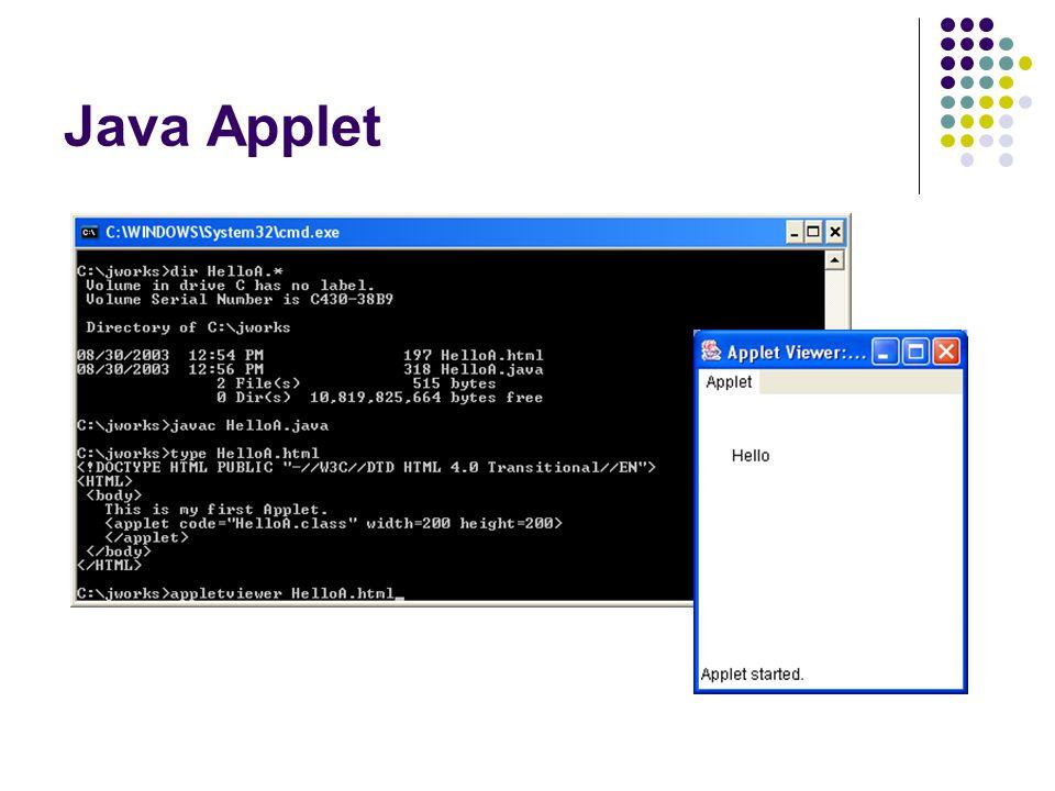 Java Applet