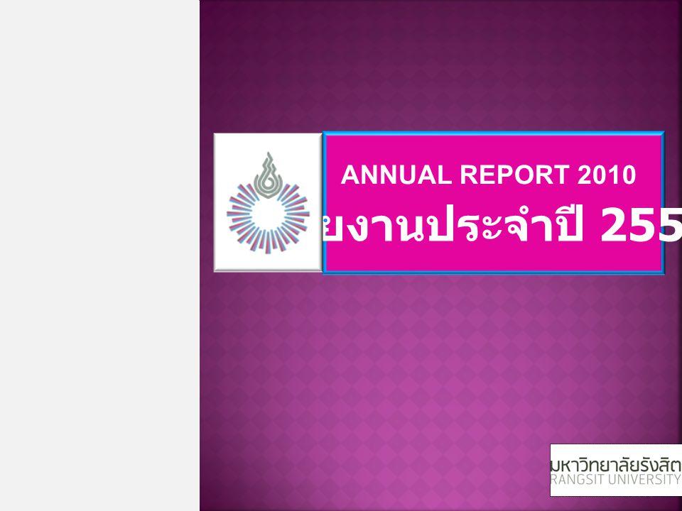 รายงานประจำปี 2553 ANNUAL REPORT 2010