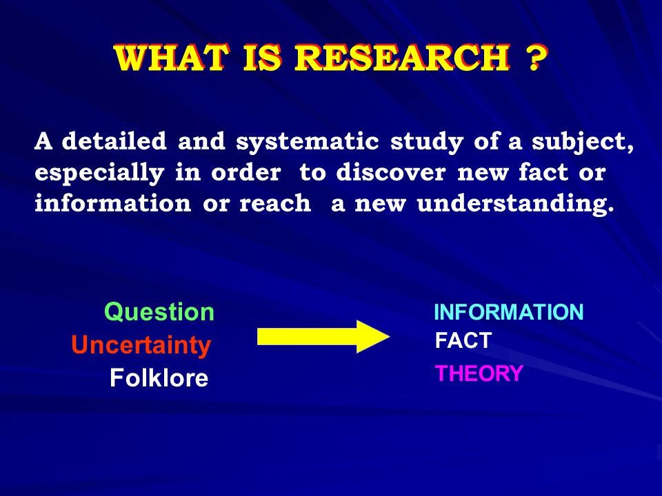 INTRODUCTION (Cont) Don't baffle your reader : Don't baffle your reader :  unfamiliar abbreviations  diseases, drugs, places or whatever that they do not know they do not know Give the study design, but not the conclusion We therefore conducted a double blind randomized controlled study with 10-year follow up to determine whether _ _ _ _ _ _. Introduction