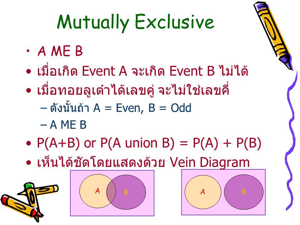 Note: – ในกรณีของ Data ที่ได้จากการสุ่มตัวอย่าง เราได้เฉพาะค่า Estimate ของ Mean และ Mean Square เท่านั้น และ