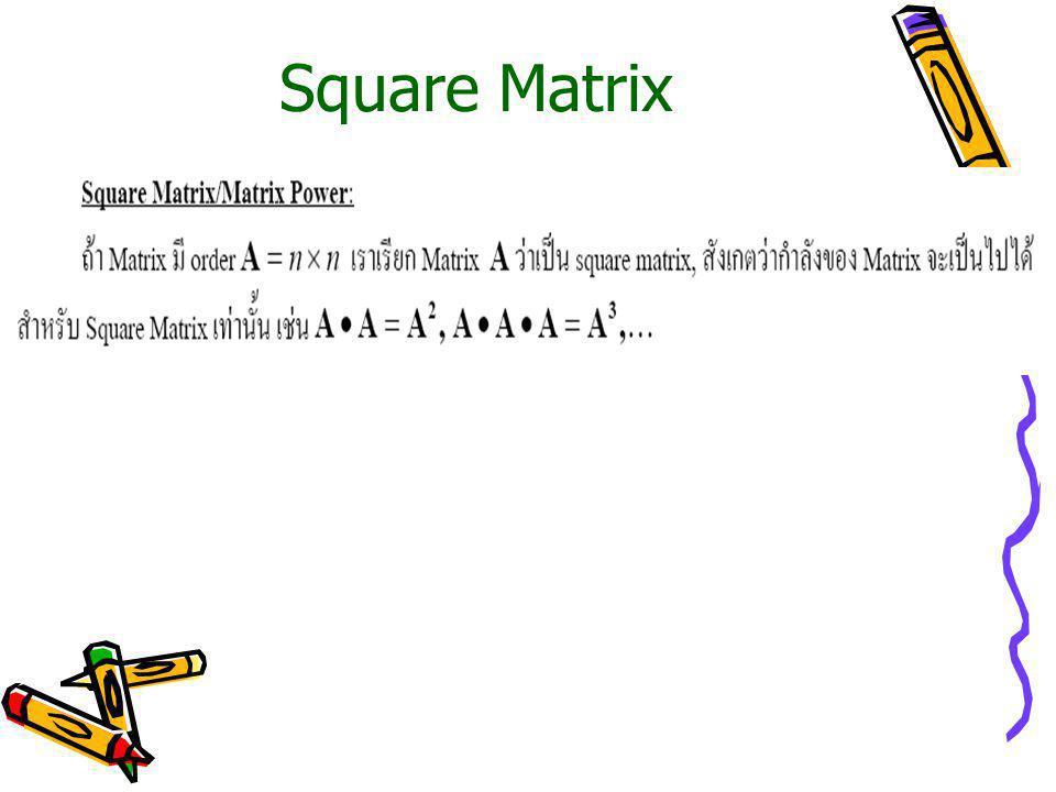 Inverse of Matrix