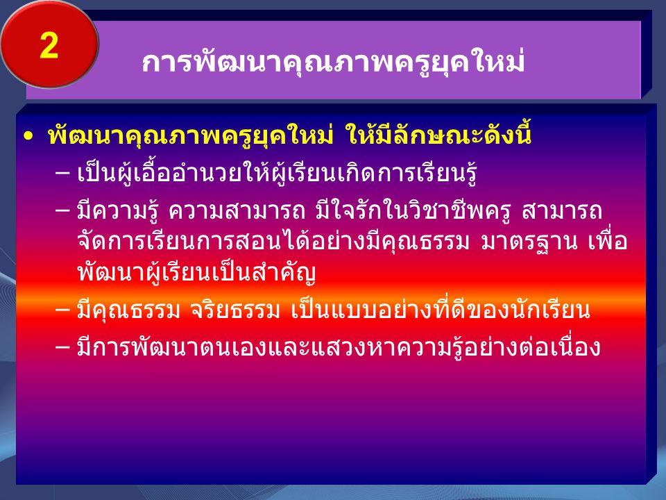 คุณภาพ เด็กไทย/ คนไทย -สมอง -คุณลักษณะ -สมรรถนะ ครู/ กระบวนการสอน สถานศึกษา/ แหล่งเรียนรู้ หลักสูตร ทบท วน