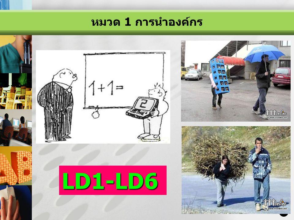 LOGO 11 LD1-LD6 หมวด 1 การนำองค์กร