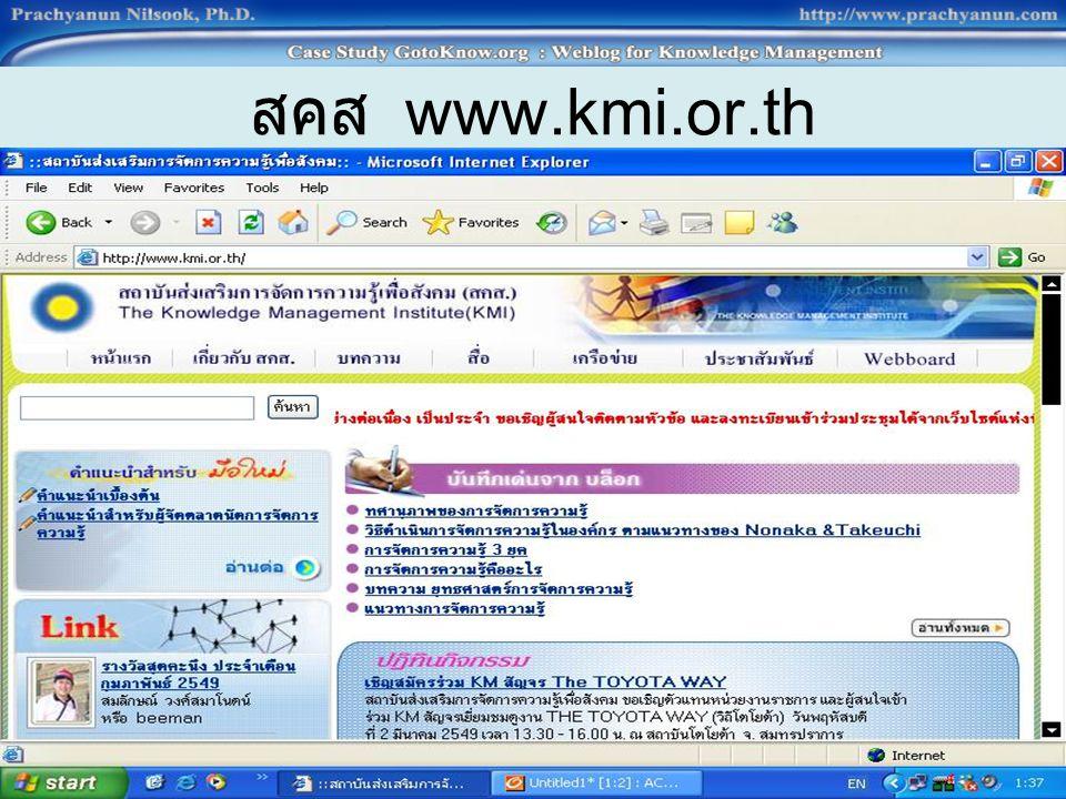 สคส www.kmi.or.th