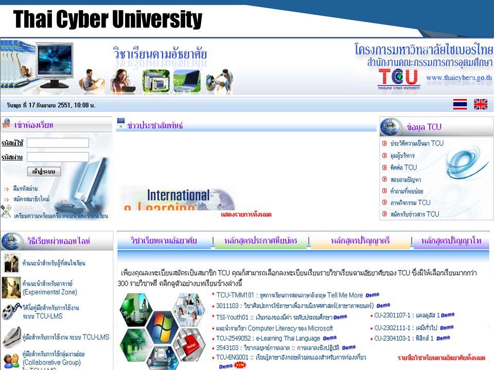 Thai Cyber University