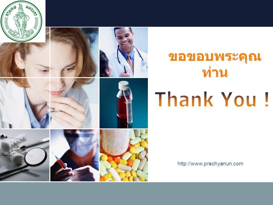 LOGO http://www.prachyanun.com ขอขอบพระคุณ ท่าน