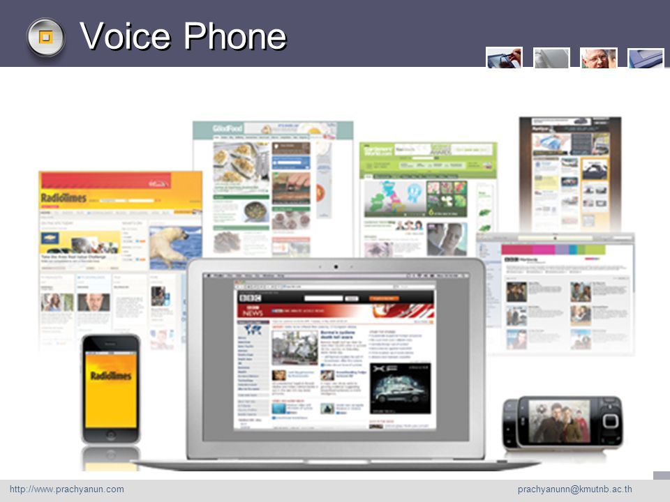 LOGO Voice Phone http://www. prachyanu n.com http://www.prachyanun.com prachyanunn@kmutnb.ac.th