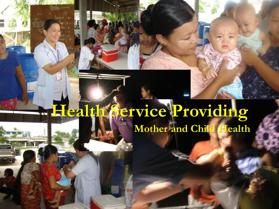 Health Service Providing Mother and Child Health