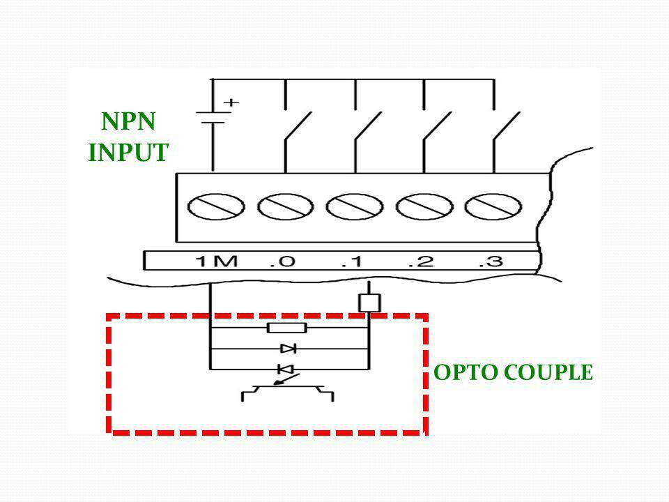 OPTO COUPLE PNP INPUT
