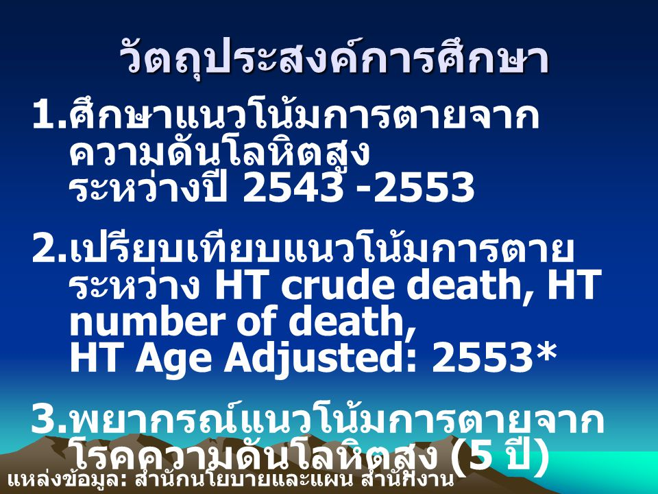 HT Crude Death 2543-2553 HT Crude Death 2543-2553 HT No.