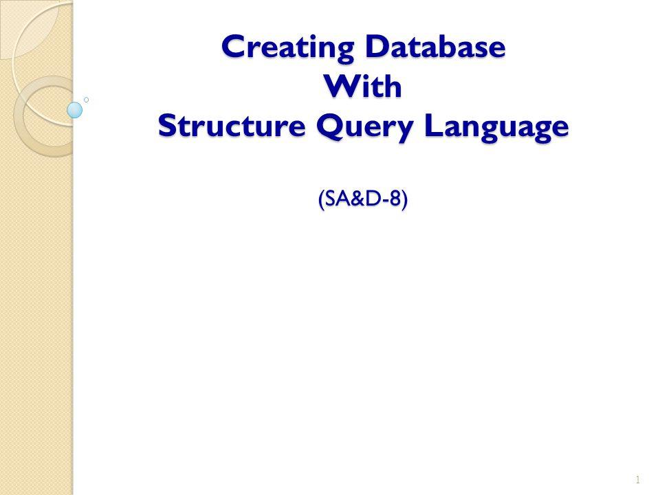 การออกแบบฐานข้อมูลในระดับแนวคิด (Conceptual Database Design) ลบตารางออกจากฐานข้อมูล ◦ ตัวอย่างที่ 8-8 ลบตาราง Student ( ตาราง Student จะต้องไม่มีความสัมพันธ์กับตาราง อื่นๆ ) DROP TABLE Student; 12