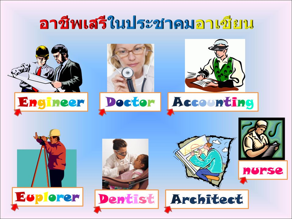 EngineerEngineerDoctorDoctor DentistDentist AccountingAccounting EuplorerEuplorer Architect nurse