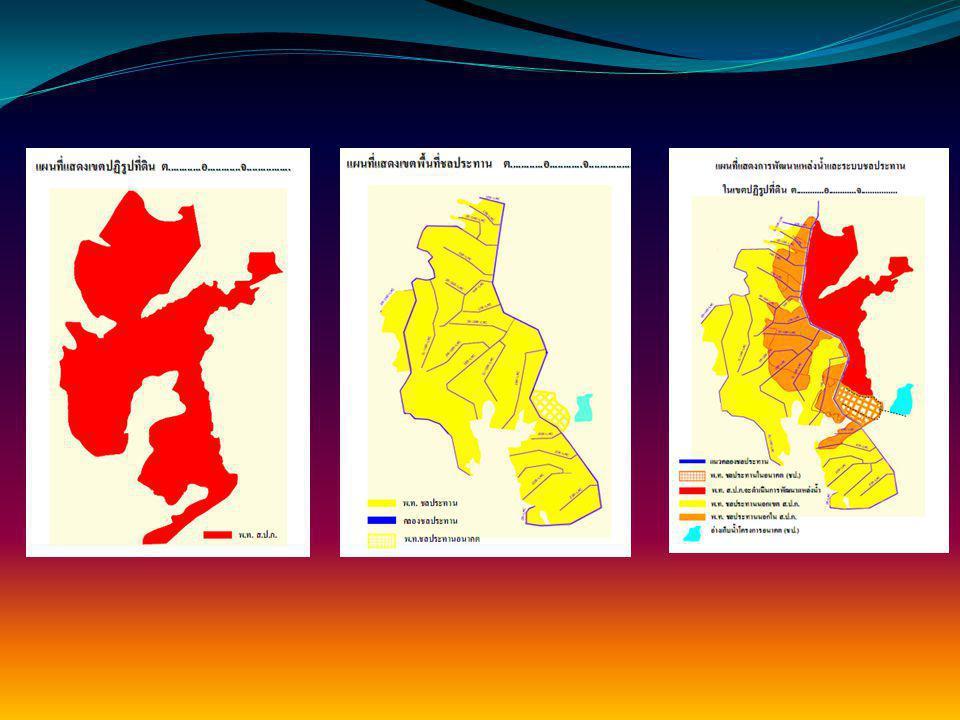 รูปแบบการพัฒนาแหล่งน้ำและการ ชลประทาน